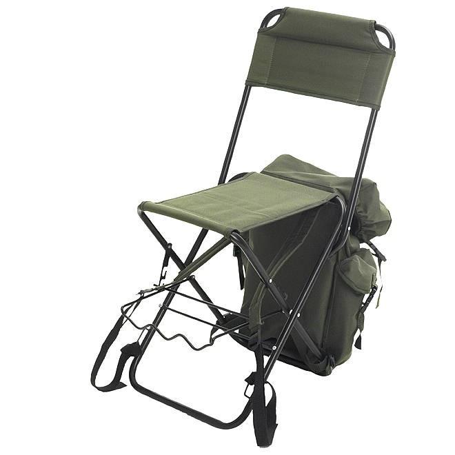 Как выбрать складной стул для рыбалки